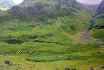 Scottish panoramas / Some panorama photos taken on my trip to Scotland in July 2013