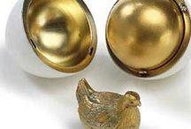 El huevo o la gallina... que fue primero? / Los fabulosos huevos de Peter Carl Fabergé