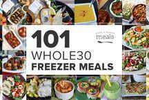 Whole30 Freezer Meals