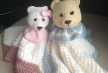 Lovely board / Crochet blankets