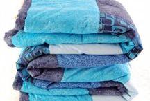 Přehozy a deky z patchworku / Mixfactory