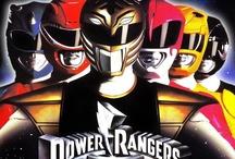 Power Rangers / by Stephen N.