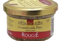 Rougie / Founded in 1875 and based in the medieval town of Sarlat in the beautiful Perigord region of France, Rougie is the world's #1 producer of foiegras and moulard duck specialties. Now operations take place in Canada where the ducks are raised and processed in USDA-approved plants following the strictest HACCP standards.