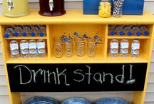 Kids Drink Ideas / For more party ideas visit Get The Party Started at www.getthepartystarted.etsy.com