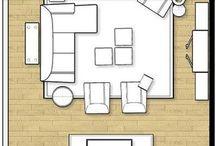 living room obyvaci pokoj