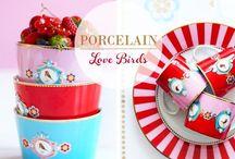 Porcelana / Piękne filiżanki, kubki, talerze, zestawy herbaciane oraz kawowe marki PiP Studio. Idealne na prezent