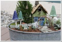 Fairy garden / Fairy garden ideas.