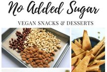 Less Sugar / Recipe with no added sugar, lower in sugar or using natural /less processed forms of sugar like coconut sugar, dates, maple syrup, or honey.