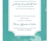 Winter Wonderland Wedding / Play in the snow or sun with our Winter Wonderland Wedding invitations! Snowflakes, trees, elegant designs and much more displayed. Flowers, meadows and chic typography, the possibilities continue to grow like the wildflowers embedded in our plantable paper!