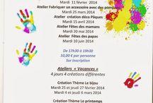 atelier de janvier à juin 2014