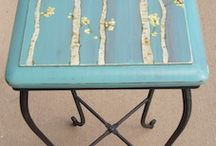 painted furniture / by Stephanie Wells