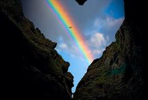 Rainbow / The soul would have no rainbow if the eyes had no tears