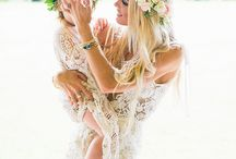 Flower crown and Hair pieces / Flower crown
