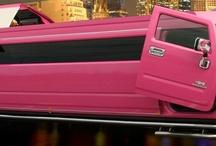 Pink cars, trucks, planes, etc.