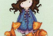 goblen -cross stitch