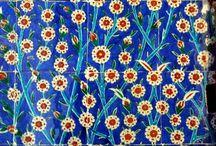 dekorerede fliser