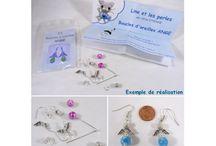 Line et les perles : les kits