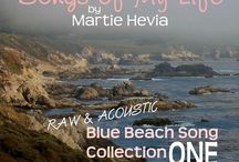BBS Collection ONE   Songs by Martie Hevia / 'Blue Beach Song Collection: ONE   Songs of My Life by Martie Hevia' is my debut album and the first in my Blue Beach Song Collection series. As a singer-songwriter, lyrics and melody have always been the heart of my music. My original compositions intimately express my own, yet universal, emotional journeys and life stories in an Acoustic-Indie-Pop-Rock-Folk style, written for voice and guitar. The recordings are simple, acoustic, one-takes. As you will hear, I am a work in progress!