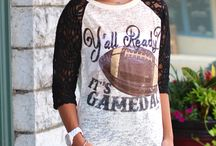 Game Day Ready! / Get game day ready, girls! Clothes, accessories, decor, DIY's and more.