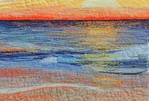 Quilting Fabric Painting