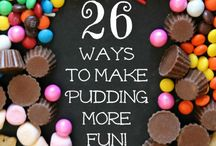 Puddings and pie ideas