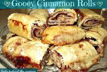 Sweets - Rolls & Pastries