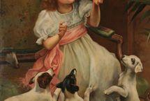 Art Peintres : personnages et animaux