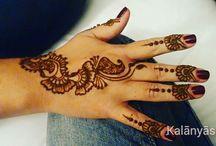 Arabic Henna Tattoos