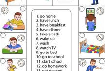 routines / pics, word lists, resources