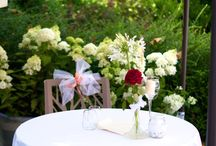 Wedding receptions / Wedding receptions in a summer garden