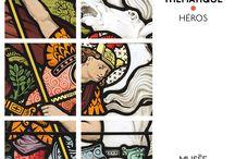 Parcours Héros / Parcours papier, disponible à l'accueil, pour découvrir le musée à votre rythme, selon vos goûts. (5 autres parcours thématiques disponibles)
