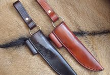 Mark's custom made pieces / A few of the hand made, custom made leather work that Mark has made for people