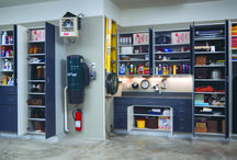 Garage Storage / Custom Designed Garage Storage created by Creative by Design Australia. Ph: 1300 366 222.