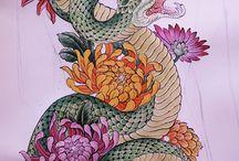 Phoenix + Snake
