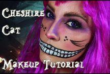 Gato de Cheshire maquillaje