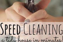 Vasking av leilighet på 45 min.