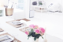 {Home} Dining Space / Inspiration for Dining Space  / by Jemima Davison