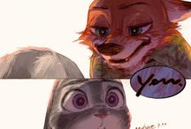 Zootopia / Most likely Judy and Nick