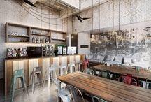 Bar und Restaurantdesigns