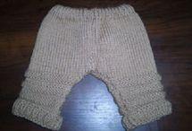 Pletení oblečky na děti, miminka
