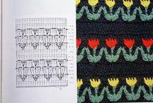 Virka - mönster & struktur