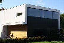 Modern woonhuis