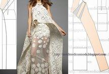 Moda feminina MOLDES