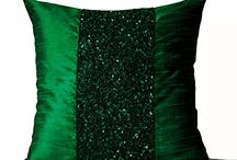 throw sequin pillow
