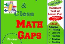 """Adaptive Placement Test w/ Lessons Reviews / Are you concerned about learning gaps in math? You will find a wealth of information on how to best """"identify and close"""" learning gaps with one comprehensive program with everything included! Students make HUGE progress in just 30 minutes a day. This program uses """"unit tests"""" to determine student's current skill level and then creates an """"individualized"""" plan to close the learning gaps."""