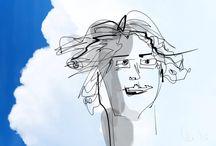 MY art in drawing / Pencil & iPad