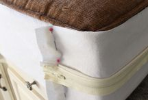 Renew / Reupholstering and repainting for a new look