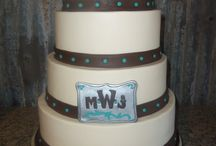 Wedding Cakes (fondant work)