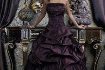Dark goth style