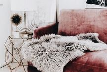 Home inspiration pink gold